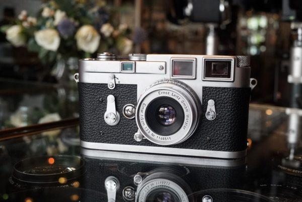 Leica M3 DS + Elmar 50mm f/3.5 M
