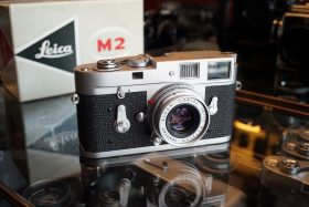 Leica M2 camera Boxed
