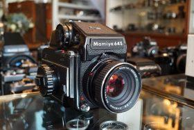 Mamiya 645 + Prism + Sekor 80mm f/2.8 C
