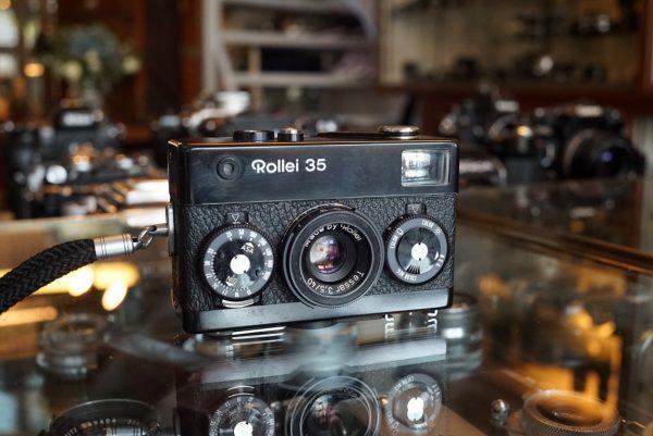 Rollei 35 w/ Tessar 40mm f/3.5