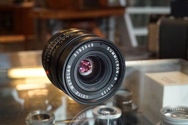 Leica Leitz Summicron-R 35mm f/2 3cam lens