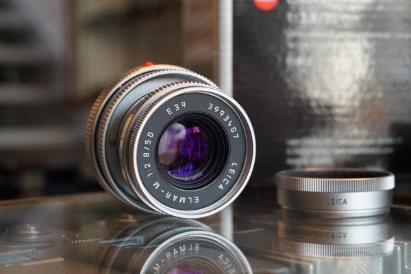 Leica Elmar-M 50mm f/2.8 E39 Chrome Boxed
