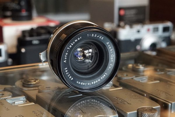 Pentax Auto-Takumar 35mm f/3.5 M42