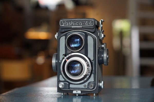 Yashica 44 TLR camera