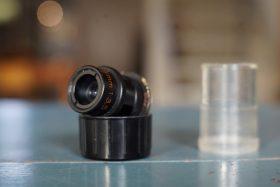 Carl Zeiss Luminar 3.5 / 25mm micro lens, RMS