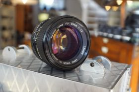 Canon lens FD 50mm 1:1.2