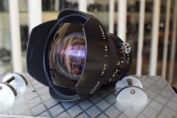 Nikon Nikkor 15mm 1:3.5 AI