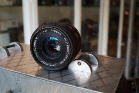Fuji 1:1.9 / 35mm Fujinon-w M42 mount