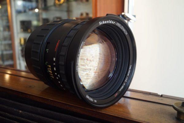 Schneider Tele-Xenar 2.8 / 180mm HFT, remounted to Mamiya