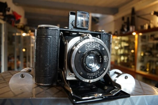 Nagel Vollenda with LEITZ 3.5/5cm Elmar lens