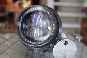 Dallmeyer Dalmac 3.5 / 127mm Dc lens