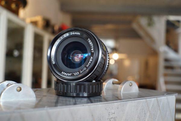 SMC Pentax 1:2.8 / 24mm PK