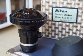 Nikon Fisheye-Nikkor 2.8 / 8mm AI, Boxed