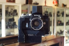 Nikon F + Action finder + F36 motor + Nikkor 2/5cm