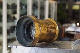 Ross Rapid symmetrical 12×10 old brass lens