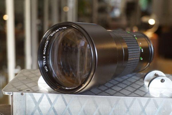 Minolta MD 1:4.5 / 300mm Tele Rokkor