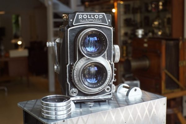 Rollop Automatic TLR, Enna f/2.8 lenses