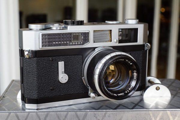 Canon 7 rangefinder + Canon 1.8 / 50mm