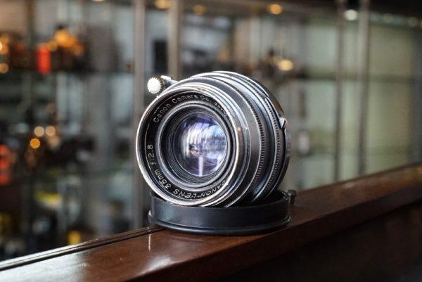 Canon lens 35mm f:2.8, Leica screw mount