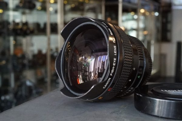 Canon Fish-eye Lens FD 1:2.8 / 15mm