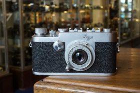 Leica Ig + Leitz Elmar 3.5 / 5cm lens