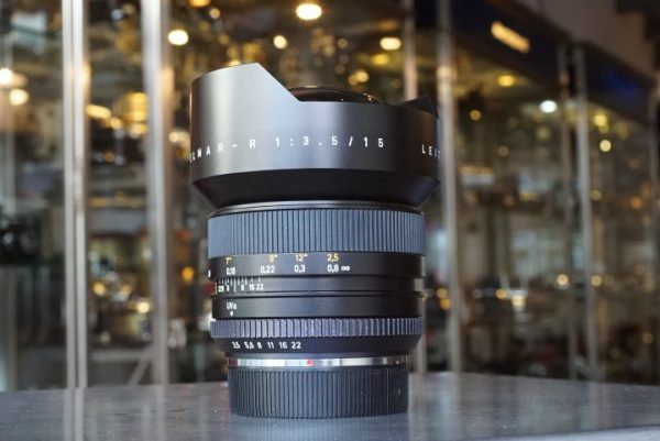 Leica Leitz Super-Elmar-R 1:3.5 / 15mm 3-cam, boxed