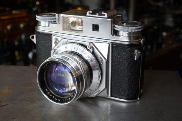 Voigtlander Prominent II + Nokton 1.5 / 50mm