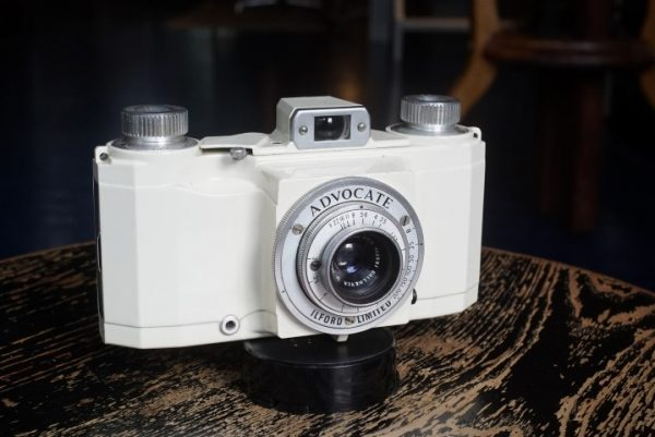 Ilford Advocate with Dallmeyer lens