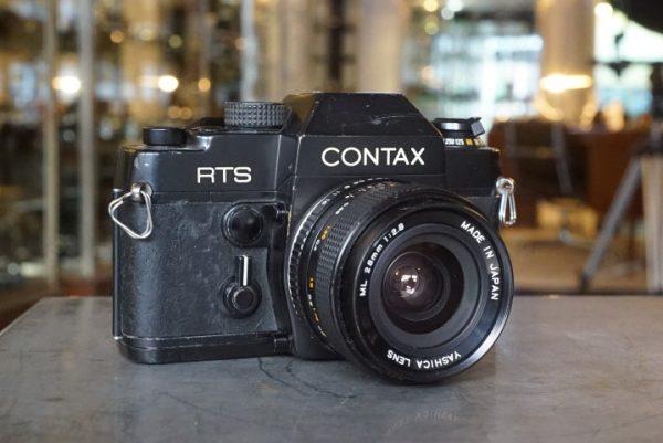 Contax RTS + Yashica 2.8 / 28mm ML lens