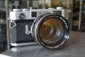 Canon 7s RF w/ 50mm f/0.95 Dream lens