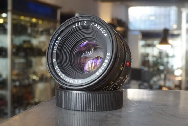 Leica Leitz Summicron-R 1:2 / 50mm, 3-cam