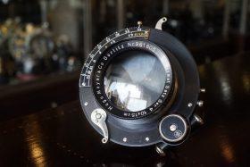 Hugo Meyer Plasmat satz Ser. 4 10x15cm, 1:8/32, 27cm
