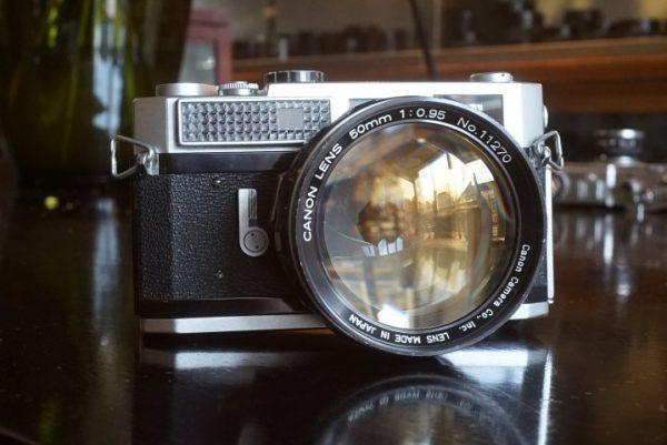 Canon 7 + 50mm f/0.95 Dream lens
