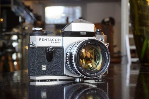 Pentacon Super w/ Zeiss 55mm f/1.4 Pancolar lens