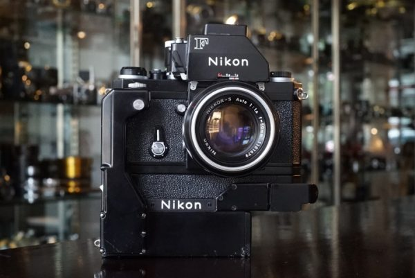 Nikon F Photomic FTN w/ F36 Motor + 50mm f/1.4