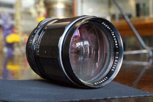 Pentax Super-Takumar 135mm f/2.5 M42