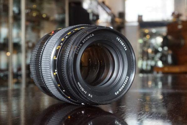 Bronica Zenzanon-PS 1:4 / 150mm, 6×6