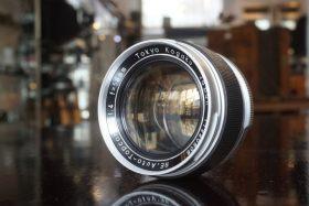 Topcon RE Auto Topcor 58mm f/1.4