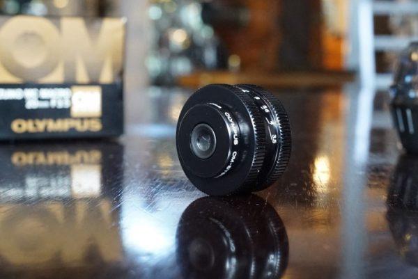 Olympus OM Zuiko 20mm Bellows Macro lens