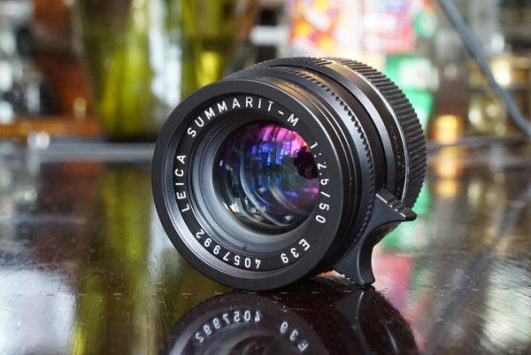 Leica Summarit-M 50mm f/2.5 6-bit Boxed