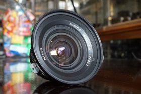 Nikon Nikkor 18mm f/4 Pre-AI