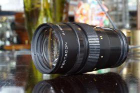 Pentacon 200mm f/4 in Nikon F mount