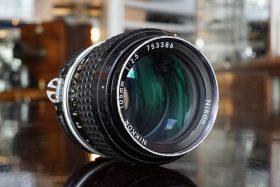Nikon Nikkor 105mm f/2.5 AI lens
