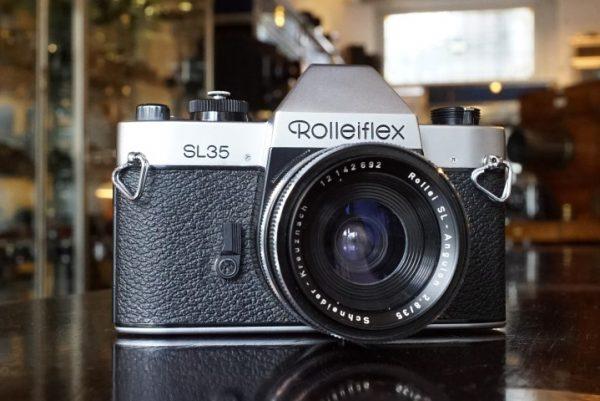 Rolleiflex SL35 + Schneider SL-Angulon 2.8 / 35mm