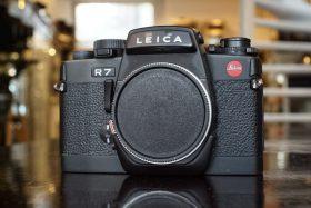 Leica R7 black body Boxed