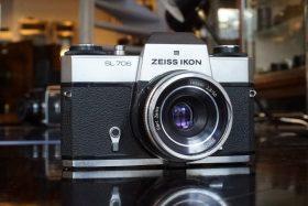 Zeiss Ikon SL706 + Tessar 50mm f/2.8