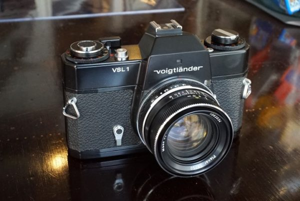 Voigtlander VSL-1 + Rollei Zeiss Planar 50mm f/1.8 M42