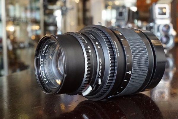 Hasselblad S-Planar 135mm f/5.6 in Focus mount