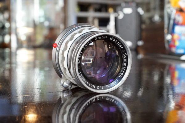 Leica Leitz Summicron 50mm f/2 M Rigid