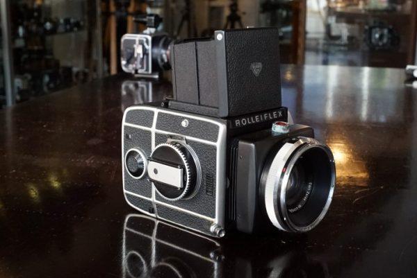Rolleiflex SL66 + Zeiss Planar 80mm f/2.8